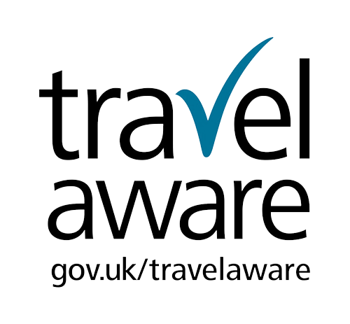 FCO Travel Aware Logo